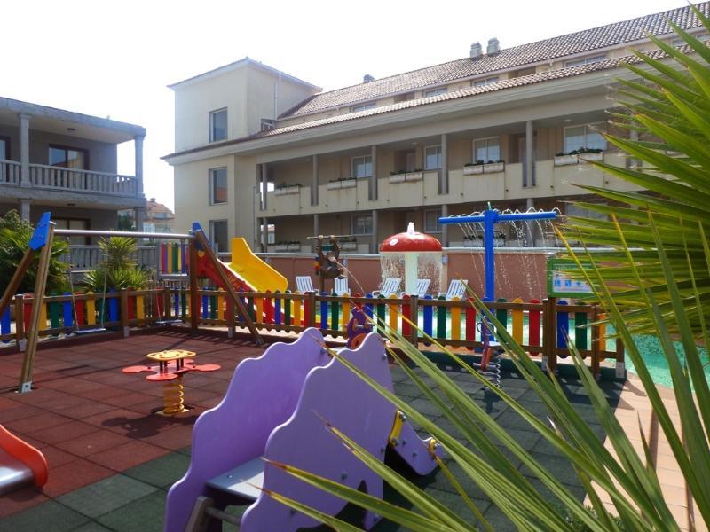 Spielplatz im Freien.
