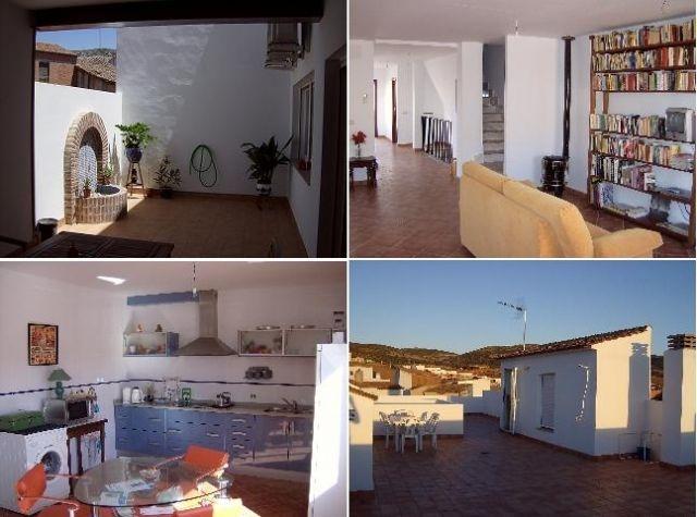 Casa de 450 m2 de 3 dormitorios en Navalucillos, L, holiday rental in Sevilleja de la Jara