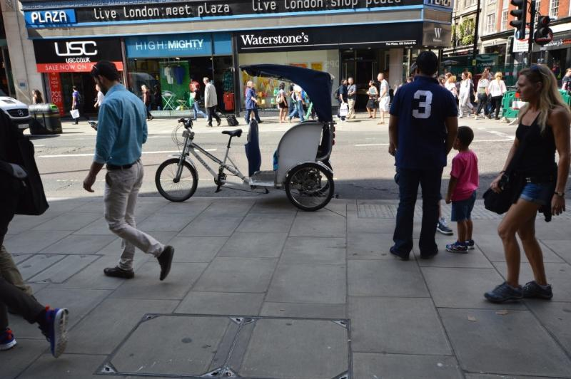 Getting around London - only for the brave !