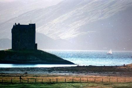 The famous Stalker Castle 15 minutes down the road.