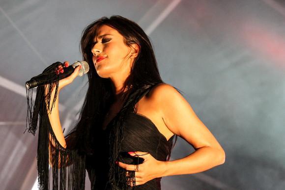 Ana Moura in September op de Fado Festival 'Caixa Alfama'