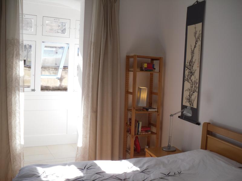 Main Bedroom with adjoining traditional closed balcony