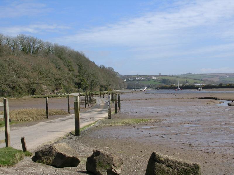 River Avon tidal road
