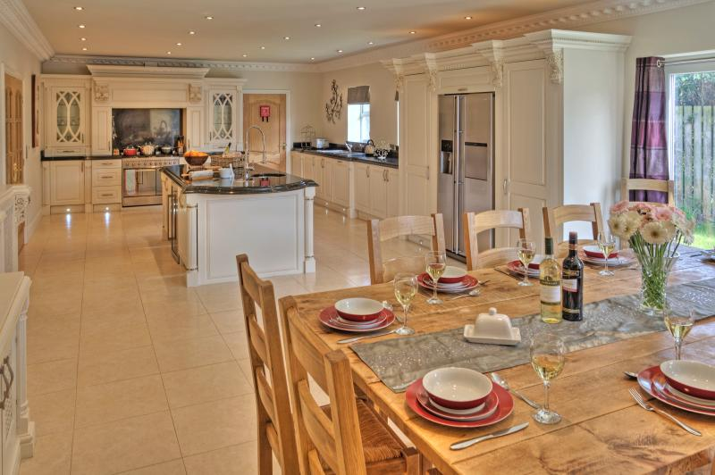 Our large luxury kitchen