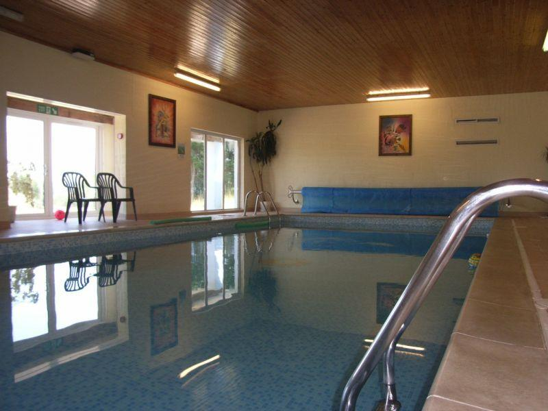 Come and enjoy the indoor heated swimming pool