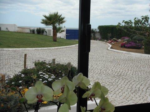 Grounds overlooking beach