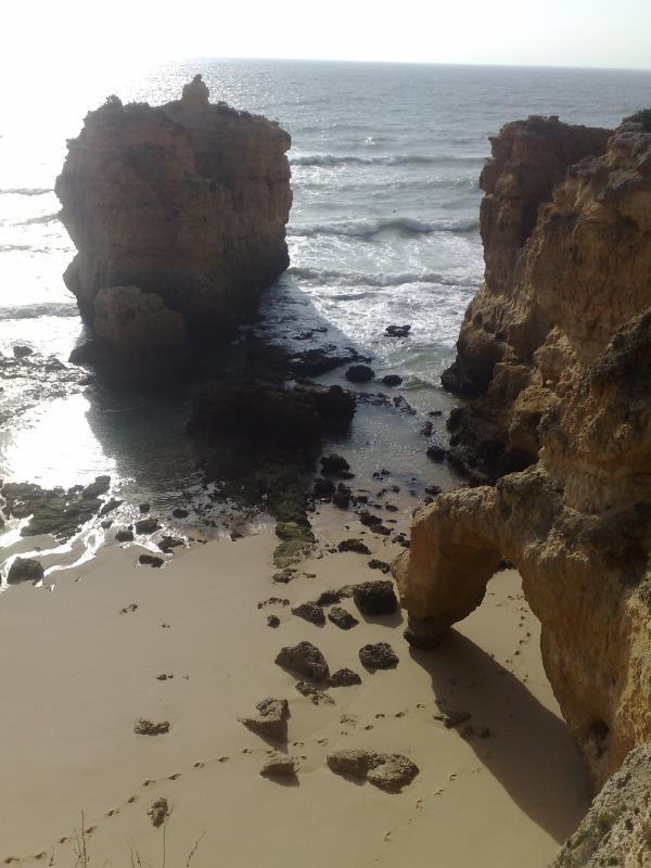 Sao Rafael beach - 5 min walk