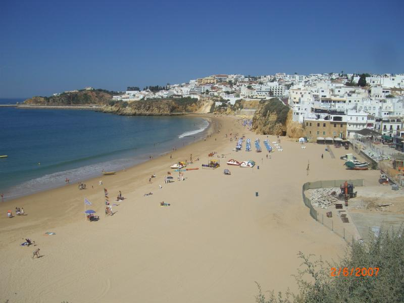 Fisherman's beach - In Albufeira Old Town, which is 10 min drive away