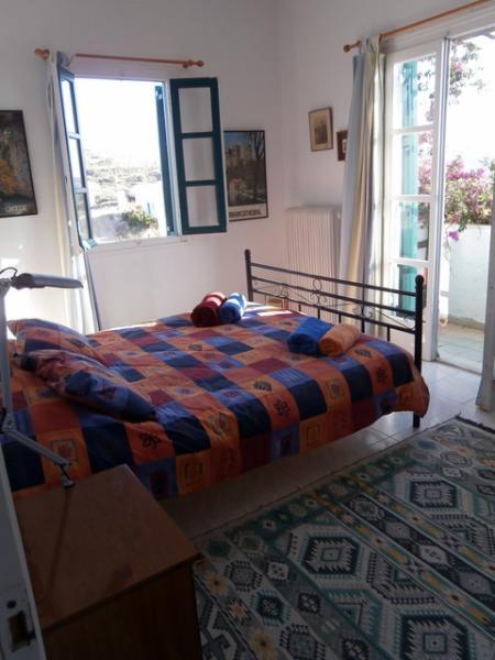 Chambre double avec aspects jumeaux et bourgonvillea couverts de vérandas