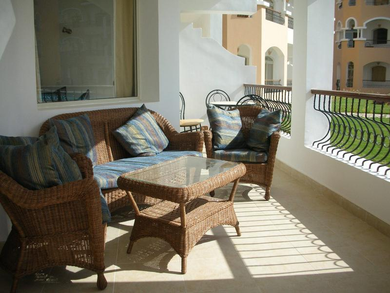 Sit in comfort or dine al fresco on our balcony