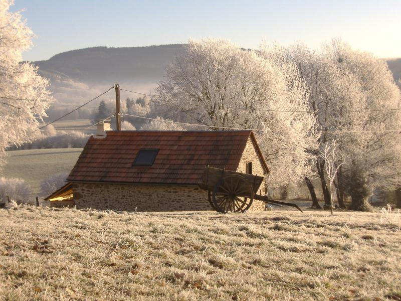 Winter at the gite