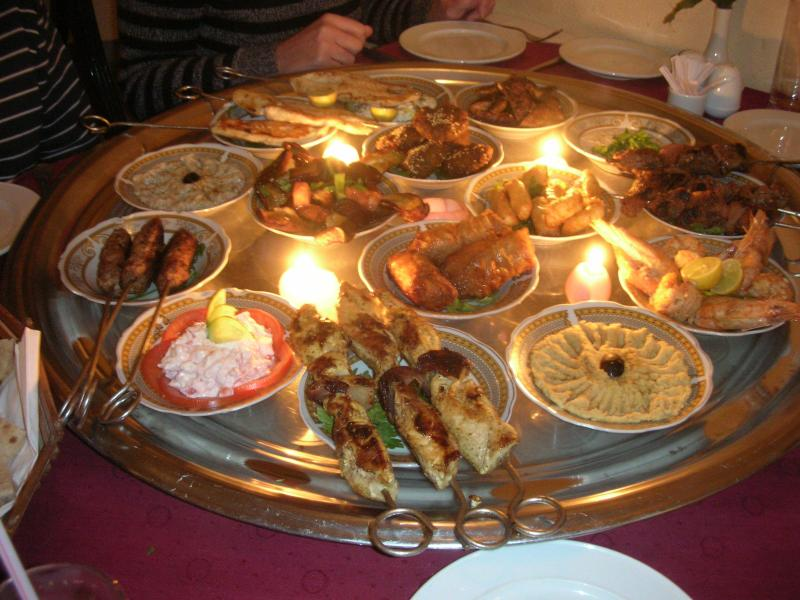 Amazing Egyptian cuisine at 'Puddleducks'