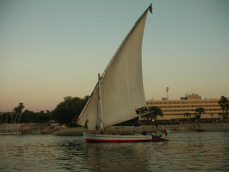 An evening felucca trip is a memorable experience