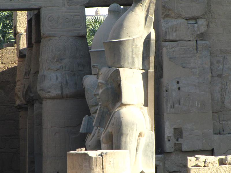 Karnak Temple is a must! Experience the Son et Lumiere first and return the following day