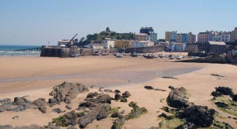 Tenby - it's blessed with so many nice beaches.