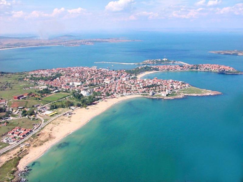 Aerial view of Sozopol