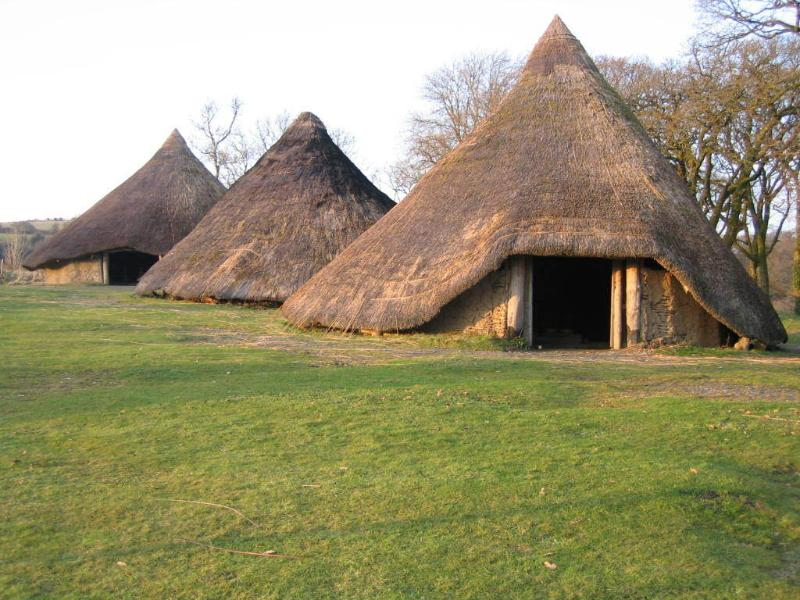 Castell Henllys - we thoroughly recommend you visit!
