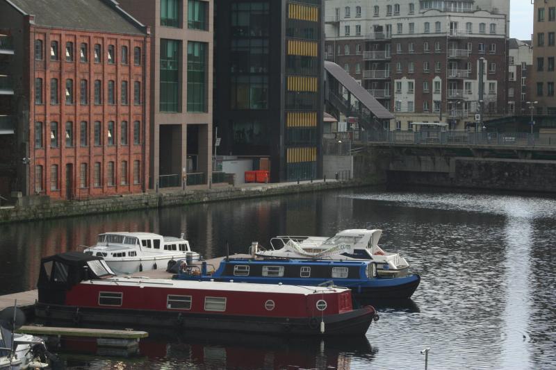 Scéal Eile moored in the Marina