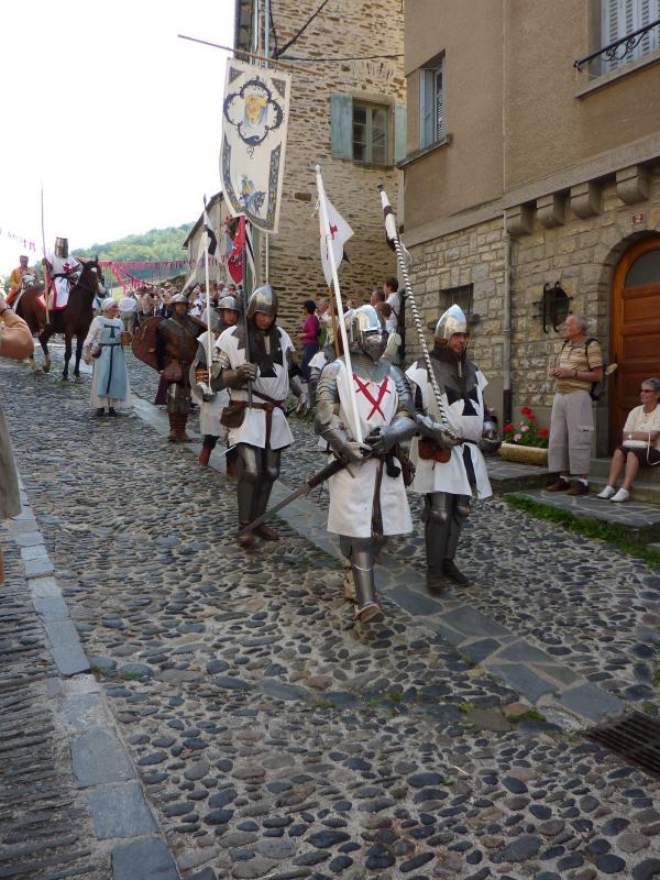 Medieval Festival held in Estaing
