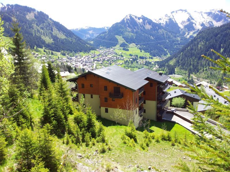 Chalet Le Yeti 6 con una ubicación muy tranquila con vistas a Suiza y el autobús fácil acceso
