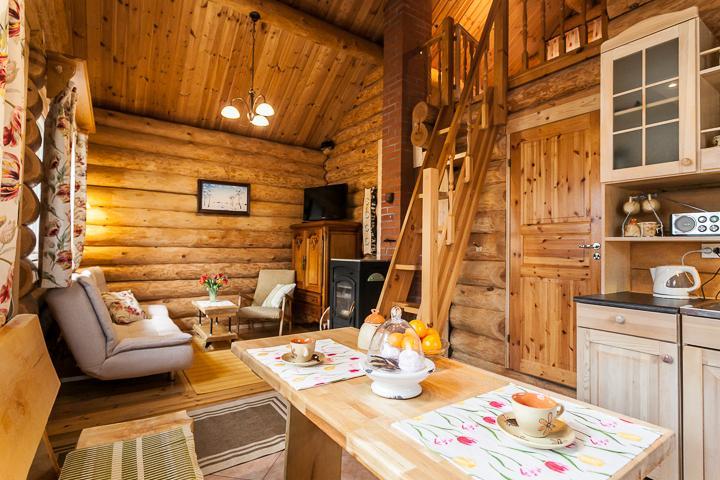 Living room in Koru Cottage