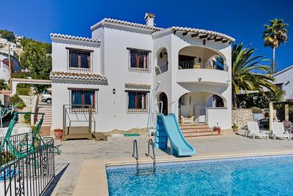 villa Peral, aluguéis de temporada em Moraira