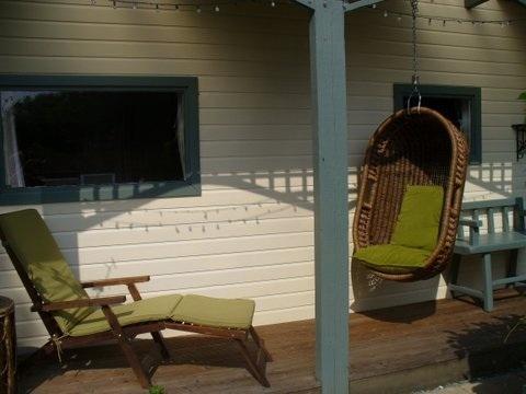 Relax on the veranda, a sun trap.