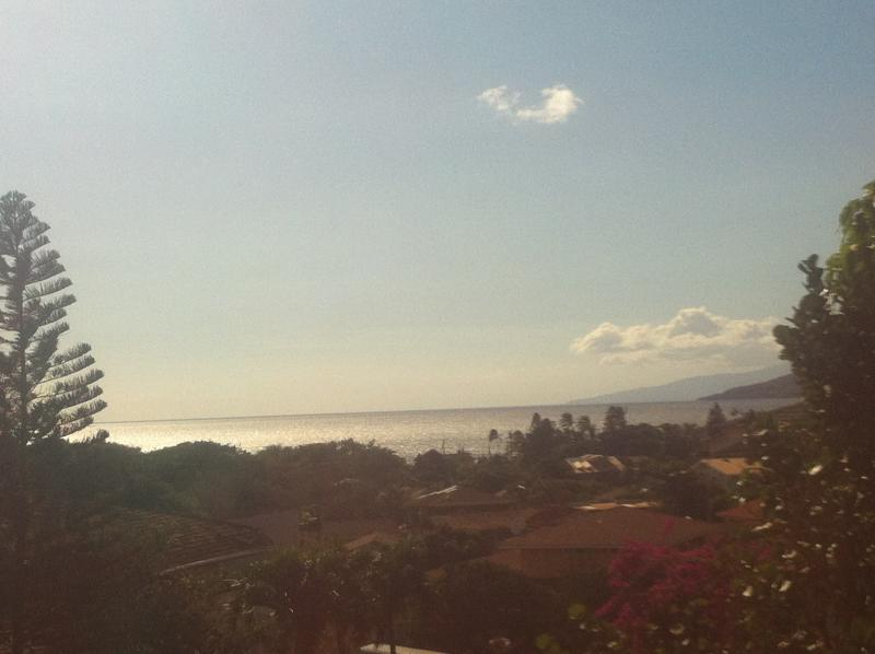 Our sunny Maui weather enables clear views of the ocean and neighboring islands.