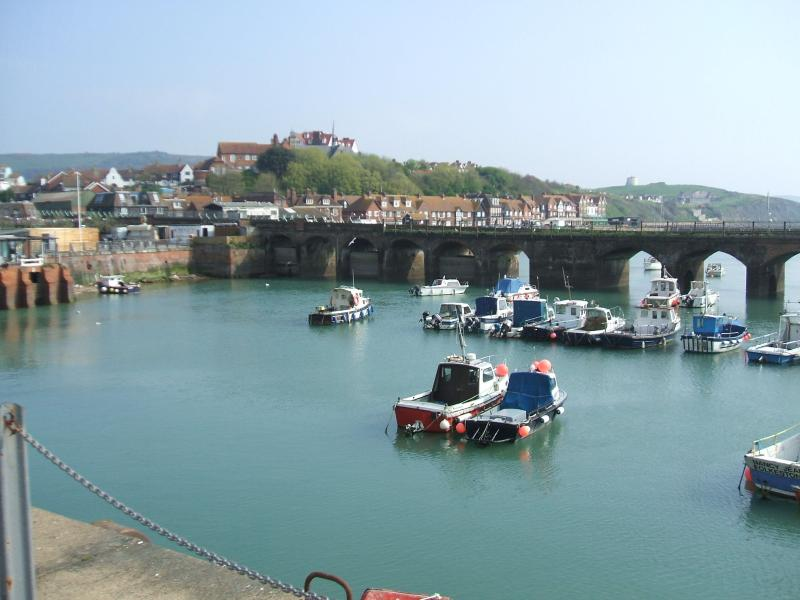 The very nearby harbour