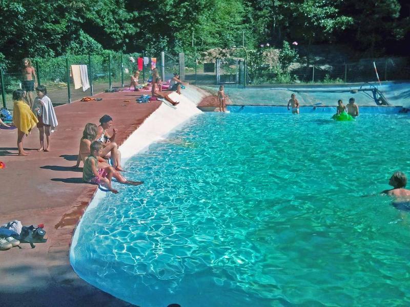 la piscine naturelle du camping