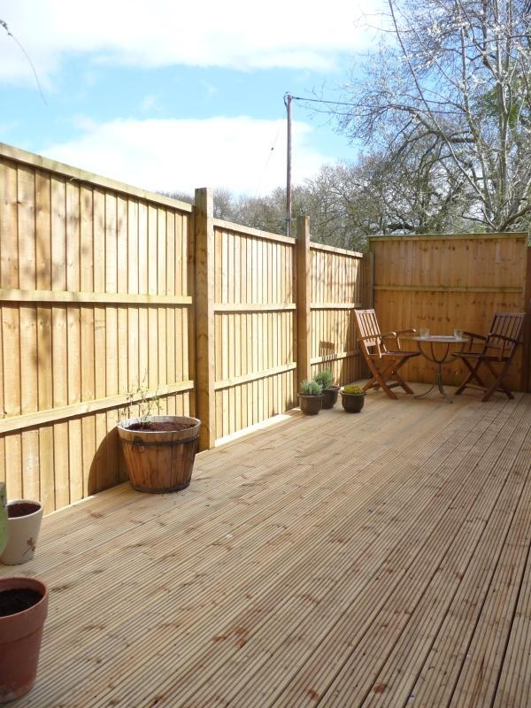 Private decking area