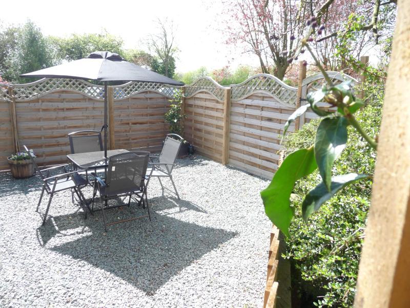 Private sitting area/garden