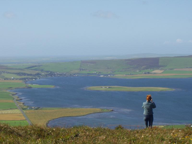 Walkers and nature-lovers will revel in Orkney's wide open vistas of lochs and land and sea.