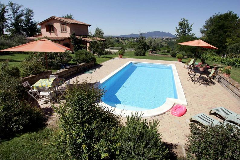 La Pazziella charming villa in roman country, vacation rental in Province of Rieti