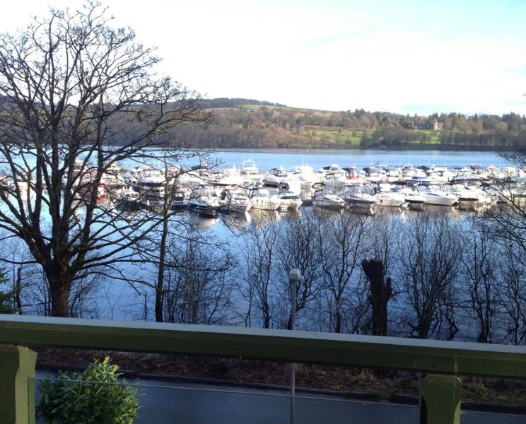 View from Lodge Balcony