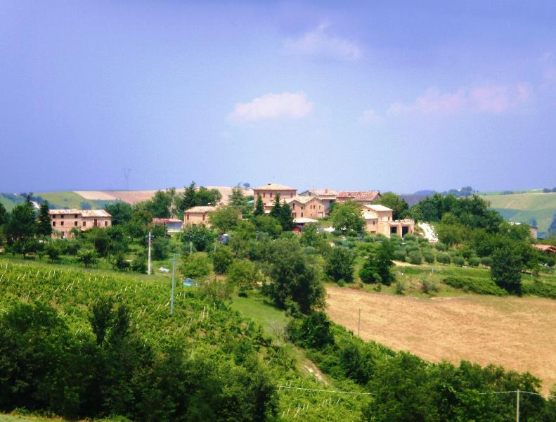 Hamlet of Tomassucci (house is on left)
