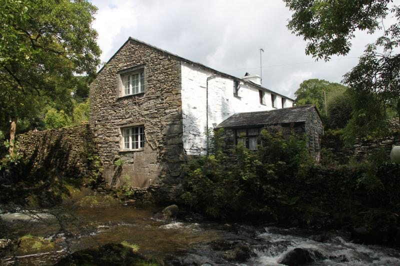 Dipper Cottage is part of the old mill building at Sunny Bank Mill