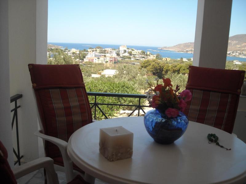 Archipelagos apartment - 50 sq.m - 3 adults, location de vacances à Ano Siros