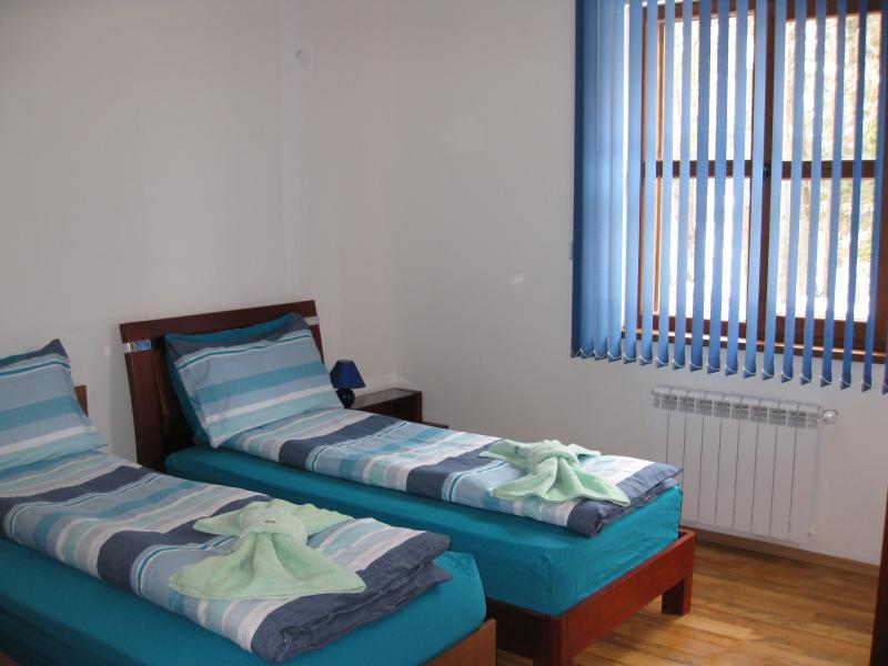 deuxième chambre avec 2 lits simples