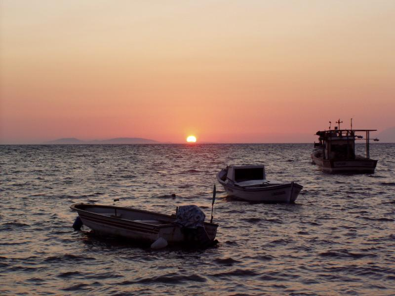 Sunset at Maviisehir