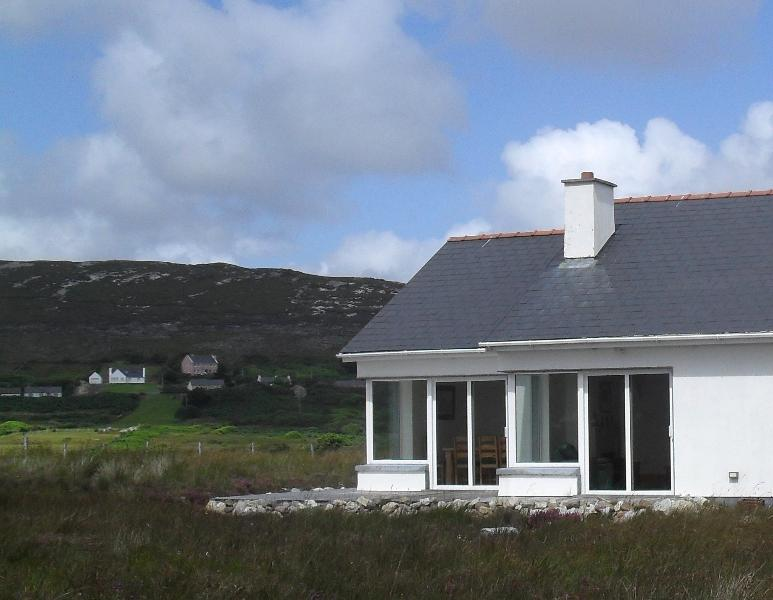 Naomh Iosaef, The Points, Achill Island - surrounded by tranquil views of the sea and mountains.