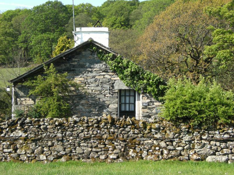 Wren Cottage is the end part of the original Mill building