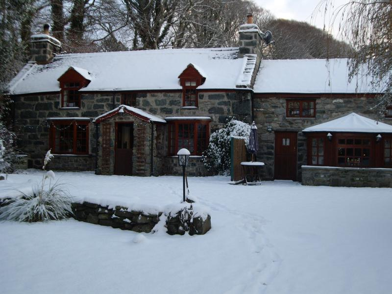 A winter wonderland - cosy inside though