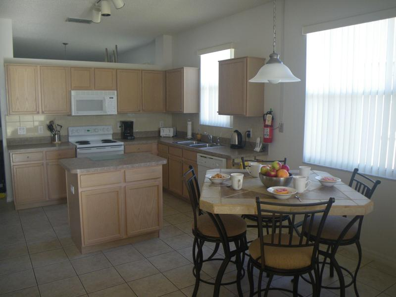 Kitchen and rear dining