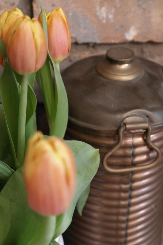 A traditional copper preserving pot - our cottage's namesake