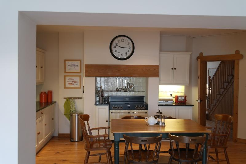 At the heart of the cottage, this kitchen is for good food and great company