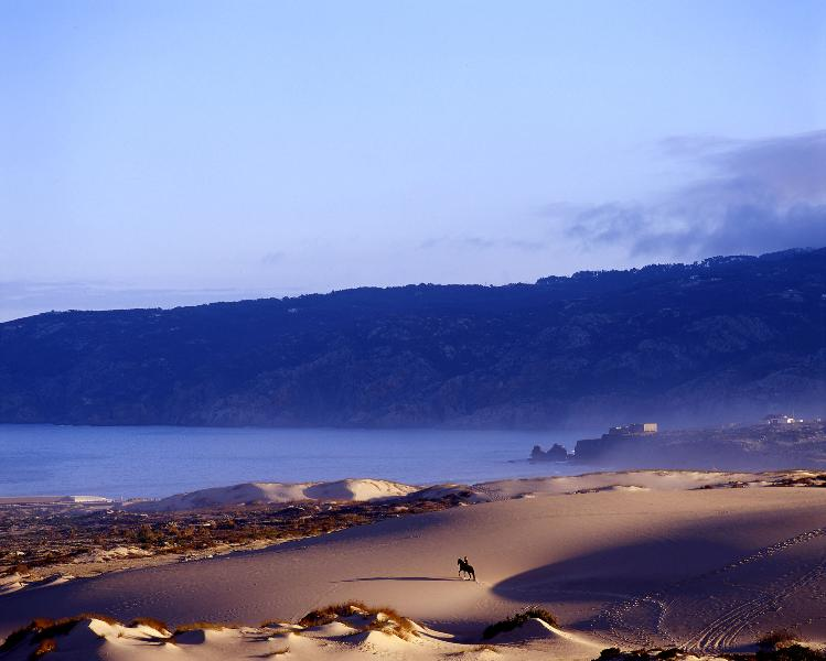 Guincho beach _ perfect for surfers and kitesurfers