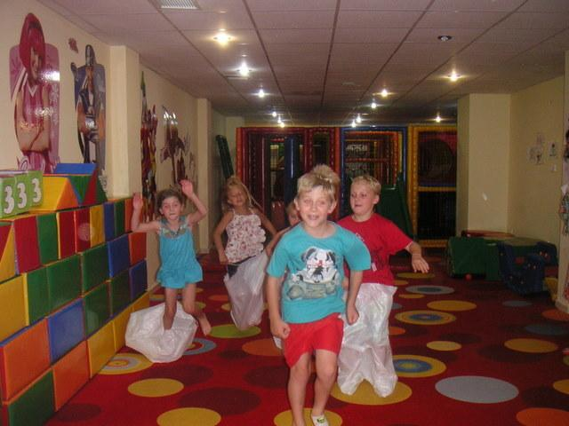 The indoor children's play centre and club