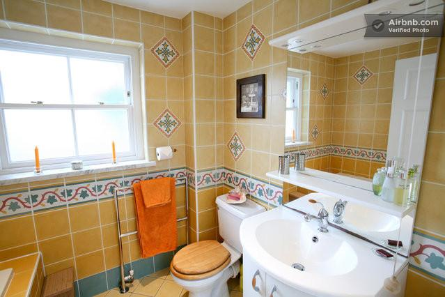 The family bathroom. There are two other ensuites and a downstairs cloakroom too
