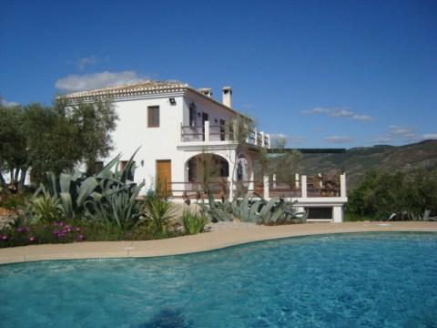 Rural House sleeps up to 10, on 5 acre olive grove with Private Pool. Awarded Superior Status.
